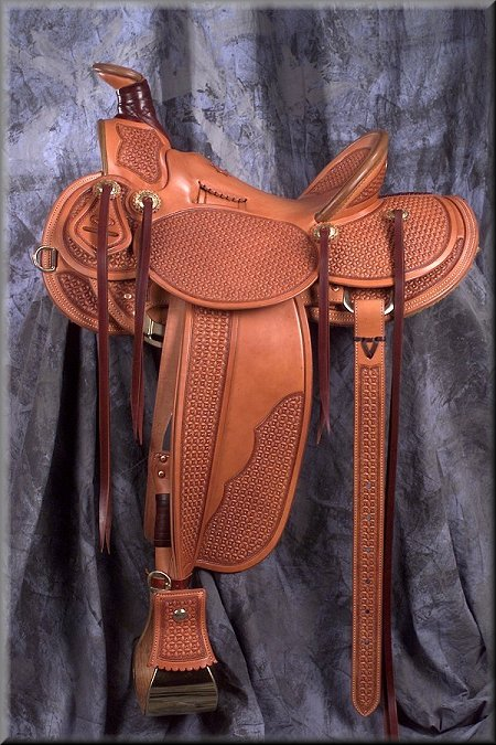 3B Old Time Visalia - available from Grizzly Saddlery Inc. Great Falls, Montana
