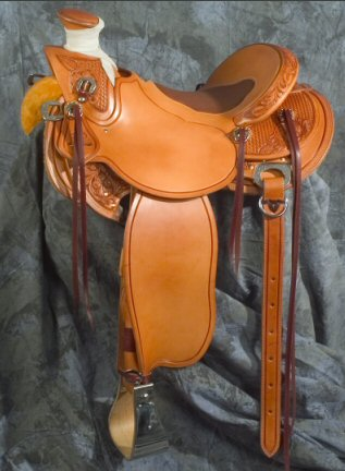 Fawn Saddle - available from Grizzly Saddlery Inc. Great Falls, Montana