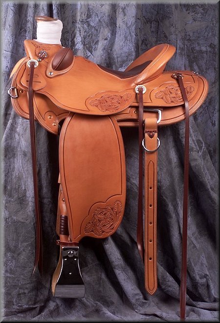 Grizzly Lady Wade - available from Grizzly Saddlery Inc. Great Falls, Montana
